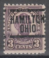 USA Precancel Vorausentwertung Preo, Locals Ohio, Hamilton 584-204, Better Stamp - Vereinigte Staaten