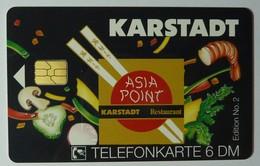 GERMANY -  O 1891 09.94 - Coca Cola - Polar Bear - Asia Point Karstadt - 6DM - Mint - Germany