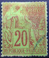 Colonies Françaises            N° 52              OBLITERE - Alphee Dubois