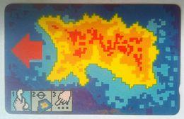 Jersey 10JERC  Heat Map - United Kingdom