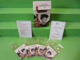 ANCIENNES 7 FIOLES MINIATURE DE PARFUM VICTOR DELOUYA EAU DE PARFUM + BOITE - Miniature Bottles (in Box)