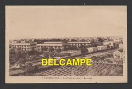 DF / MILITARIA / CASERNES / MAROC / CASABLANCA / LES CASERNES DU 1er RÉGIMENT DE ZOUAVES / CIRCULÉE EN 1923 - Casernes