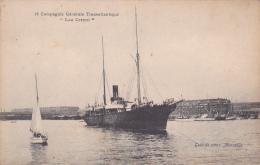 Bateaux -- Compagnie Générale Transatlantique -- Lou Cettori - Steamers