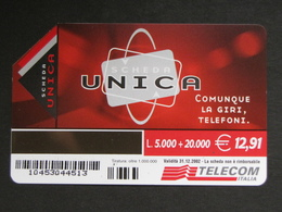ITALIA F3336A C&C - UNICA CAB BASSO LOTTO 1045 - USATA - Italy