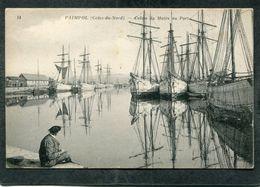 CPA - PAIMPOL - Calme Du Matin Au Port, Animé - Bateaux De Pêche - Paimpol