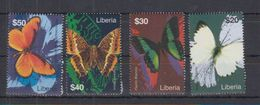 M62. MNH Liberia Nature Animals Insects Butterflies - Schmetterlinge