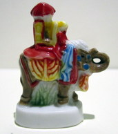 Fève Brillante - Le Prince Des Inde - Djamil Et Son Eléphant - Characters