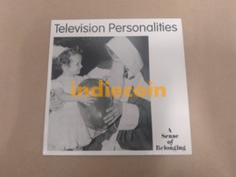 45T TELEVISION PERSONALITIES A Sense Of Belonging 1994 UK 7 NEUF - Vinyl Records