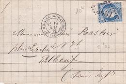 381 - LAC - CERES 60 -  18.6.72 -  ST HILAIRE DU HARCOUET  à  ELBEUF - Postmark Collection (Covers)