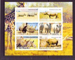 B URUNDI 2009 RHUNOCEROS  YVERT N°   NEUF MNH** - Rhinozerosse