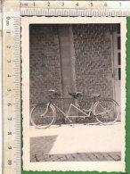 PO7212D# FOTOGRAFIA CICLISMO - BICICLETTE TANDEM Anni '30 - Ciclismo