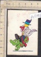 PO7248D# FIGURINA STICKER GADGET PATATINE SAN CARLO - STUDIO BOZZETTO -SBIRULINO SIGLE TV - GUIDO MANULI CLOWN - Stickers
