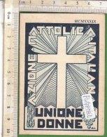 PO7258D# TESSERA UNIONE DONNE AZIONE CATTOLICA - CONSIGLIO DIOCESANO TORINO 1939 - Vecchi Documenti