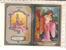 PO7261D# CALENDARIETTO PARRUCCHIERE PROFUMI - BORSARI & C. - TSIANG-HOA Grafiche Baroni-Milano - Formato Piccolo : 1921-40
