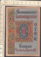 PO7269D# ETICHETTA ADESIVI PUBBLICITA' STABILIMENTO LITOGRAFICO DOYEN TORINO - SCRITTURA - Pubblicitari