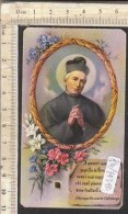 PO7434D# SANTINO CON RELIQUIA - EX INDUMENTIS - SAN GIUSEPPE BENEDETTO COTTOLENGO - Images Religieuses