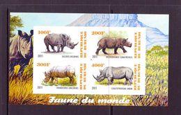 B URUNDI  2011  RHUNOCEROS  YVERT N°   NEUF MNH** - Rhinozerosse