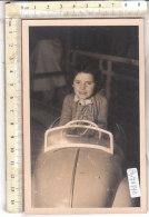 PO7474D# BAMBINI - AUTO GIOCATTOLO TOYS AUTOMOBILISMO - RICORDO VARAZZE 1948  No VG - Portraits