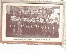 """PO7499D# OPERA NAZIONALE BAMBINI """"PRO DERELICTIS"""" FIRENZE - PRIMI RICOVERATI  VG Roccavione 1924 - Missioni"""