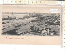PO7524D# AUSTRALIA - FREMANTLE - STATION AND WHARF  No VG - Fremantle