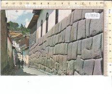PO7525D# PERU' - CUSCO - INCA STREET  VG - Perù