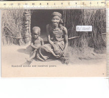 PO7600D# SUD AFRICA - NATIVE HUNDRED WEEKS AND HUNDRED YEARS  No VG - Sud Africa