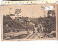 PO7614D# CONGO - BRAZZAVILLE - CONSTRUCTION DU PONT SUR LE DJOUARI  No VG - Brazzaville