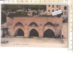PO7662D# SIENA - FONTE BRANDA - Acquerellata  No VG - Siena