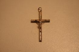Croix Ancienne En ARGENT - Religión & Esoterismo