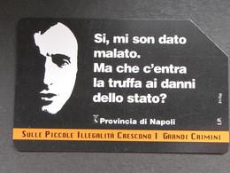 ITALIA TELECOM 2885 C&C 816 GOLDEN - ILLEGALITA' DIFFUSA TRUFFA - USATA - Italy