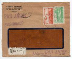 - Lettre Recommandée BANQUE NATIONALE POUR LE COMMERCE ET L'INDUSTRIE, BEYROUTH 9.9.1952 - A ETUDIER - - Liban