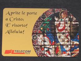 ITALIA TELECOM 2864 C&C 795 GOLDEN - PASQUA 1998 - USATA - Italy