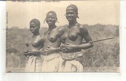 1302. Afrique Occidentale, Jeunes Malinkés (seins Nus) - Postcards
