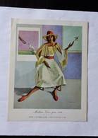 LOT De 4 Cartes De Voeux Du Peintre BENN (signature Originale) 1964-1967-1971--1982 - New Year