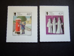 ISLE OF MAN 2013  CHRISTMAS  SELF ADHESIVE STAMPS     MNH **   (IS33-100) - Isola Di Man