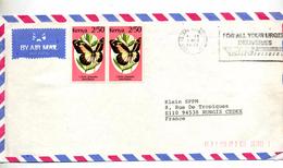 Lettre Flamme Nairobi Sur Papillon - Kenya (1963-...)