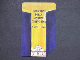 ITALIA TELECOM 2879 C&C 804 GOLDEN - TORINO OSTENSIONE DELLA SINDONE - USATA - Italy