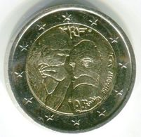 2 EUROS 2017 - RODIN 1917-2017 - France