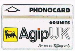 GRAN BRETAGNA (UNITED KINGDOM) - OIL RIGS L&G - AGIP UK: USE ON TIFFANY ONLY 60 UNITS (CODE 660L) - USED - RIF. 6989 - United Kingdom