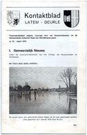 Kontaktblad Latem - Deurle - Nr. 23 - Maart 1979 (Tweemaandelijkse Uitgave) - Magazines & Newspapers