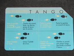 ITALIA TELECOM F3453 C&C 1400 GOLDEN - TANGO - USATA - Italy