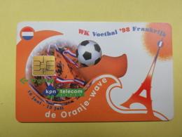Carte Pays-Bas - Coupe Du Monde 1998 - Pour L'équipe Des Pays-Bas - Sport