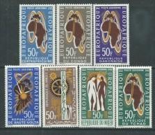 Grandes Séries Pays D'expression Française : Europafrique,  Les 7 Valeurs Sans Charnière,TB - Stamps