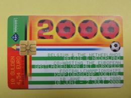 Carte Pays-Bas - Coupe 2000 -  L'équipe Des Pays-Bas Et Belgique - Sport