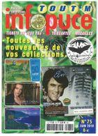 Revue Infopuce Juin 2010 N° 75 - Phonecards