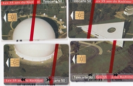 LOT  4 TELECARTES FRANCE NEUVES SOUS BLISTER - Phonecards