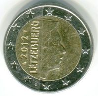 2 EUROS 2012 -LUXEMBOURG - Luxembourg