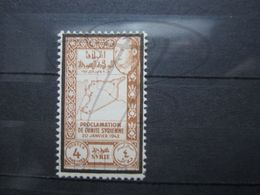 VEND BEAU TIMBRE DE SYRIE N° 272 , X !!! - Syria (1919-1945)