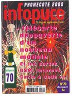 Revue Infopuce Juillet 2008 N° 70 - Phonecards