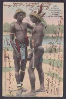 SENEGAL , TYPES DE MANKAIGNES , OLD POSTCARD - Senegal